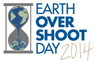 Earth Overshoot Day 2014: 19 August