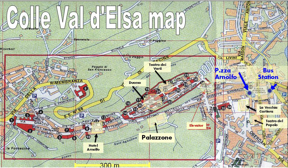 Colle Val D'Elsa Italy  city photos gallery : Bus Routes