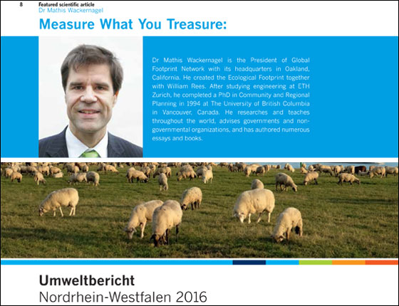 publications global footprint network environmental report north rhine westphalia 2016 essay measure what you treasure