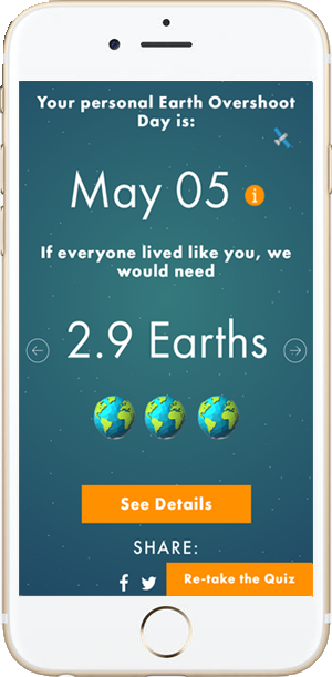 On Earth Overshoot Day Aug 2 Calculate Your Own Overshoot Day