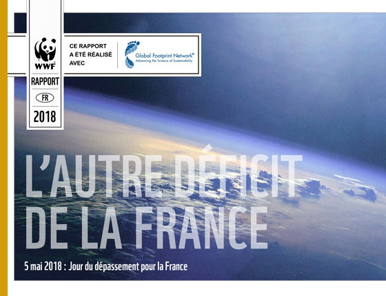 French overshoot day report cover